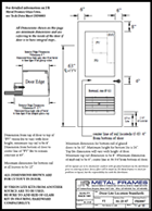 This link will take you to a Door Lite Location Standards PDF provided by JR Metal Frames.