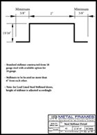 This link will take you to Steel Stiffener Detail PDF provided by JR Metal Frames.