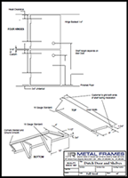 Dutch door and shelves PDF provided by JR Metal Frames. width=