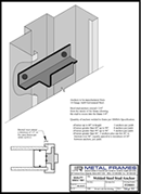 Welded Steel Stud Anchor PDF provided by JR Metal Frames.