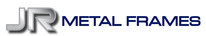 Logo for JR Metal Frames, Manufacturers of Quality Standard and Custom Hollow Metal Frames and Doors Since 1981.